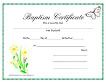 printable baptism certificates hoover web design party