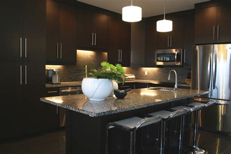 modern dark brown kitchen cabinets gorgeous backless bar stools inspiration for home bar