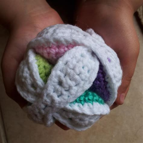 amish crochet patterns mini crochet amish puzzle ball look at what i made