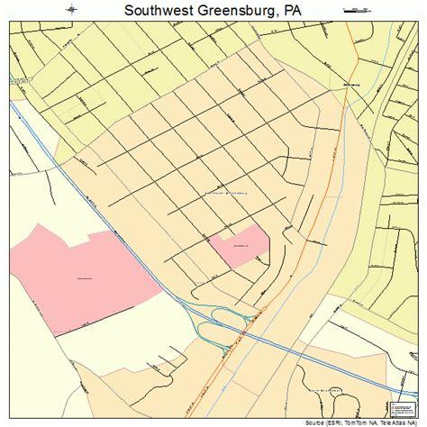 map of southwest pennsylvania landsat