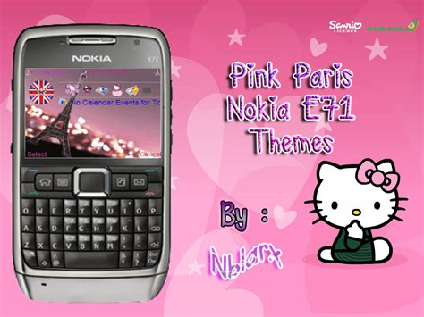 nokia e71 official themes paris kitty nokia e71 themes by nblarx on deviantart