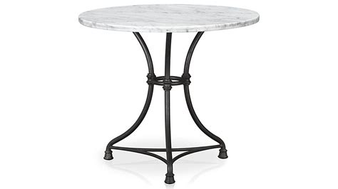 Wrought Iron Dining Room Chairs french kitchen round bistro table crate and barrel