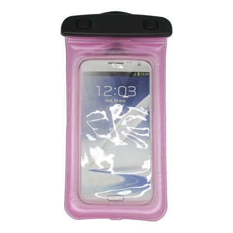 Waterproof Bag For Smartphone 4 7 5 5 Inch Abs18 67vb72 Baby Pink waterproof bag for smartphone 4 7 5 5 inch abs180 105