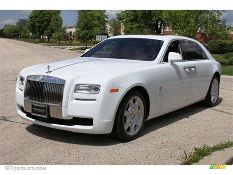 roll royce ghost white 2012 arctic white rolls royce ghost extended wheelbase
