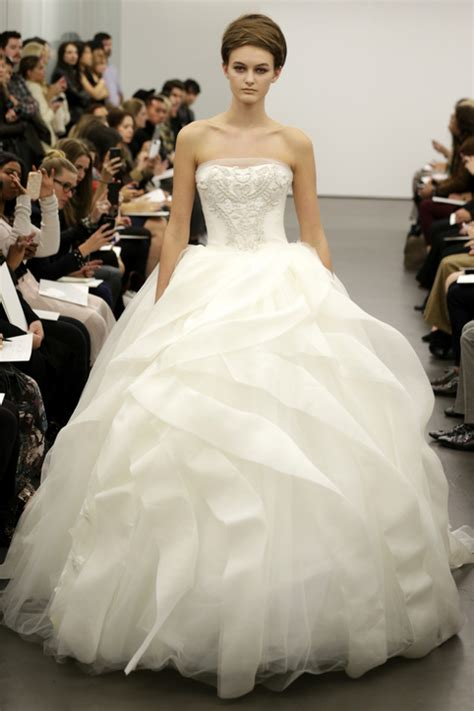 Ball gown wedding dresses fall 2013 alvina valenta kenneth pool vera
