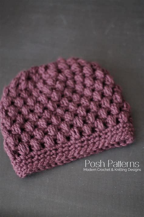 crochet hair look hat patterns crochet messy bun hat pattern