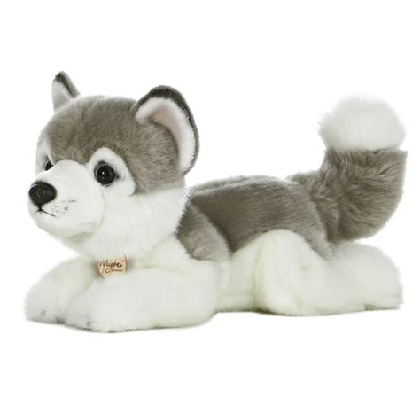 husky puppy stuffed animal realistic stuffed husky 11 inch plush by