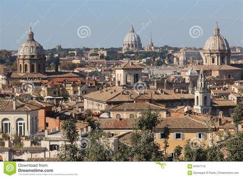 le cupole roma le cupole di roma immagine stock immagine di most