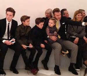 Beckham And To Design Childrens Line by Dolce And Gabbana Hit Out At Designer Of The Year