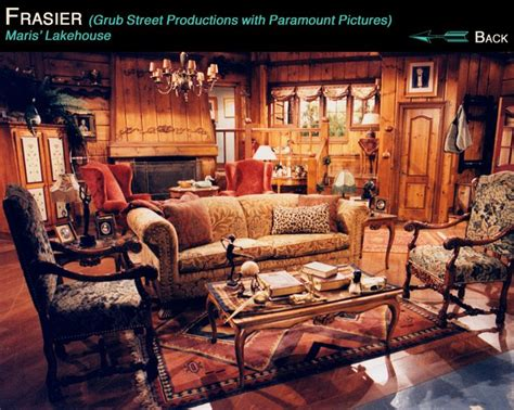 frasier living room 45 best tv houses rooms images on set design crimson peak and house