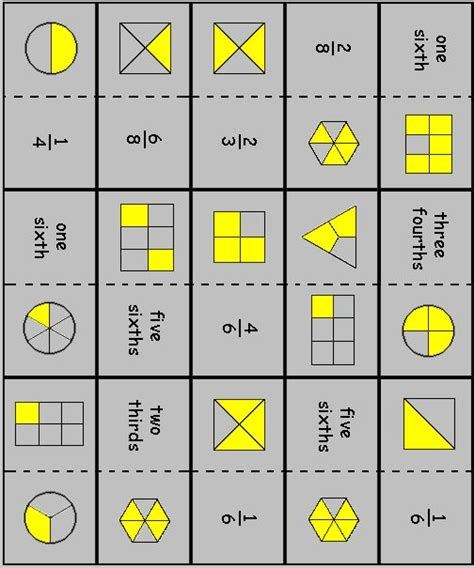 printable domino cards for math fraction dominoes maths proportions ratios np