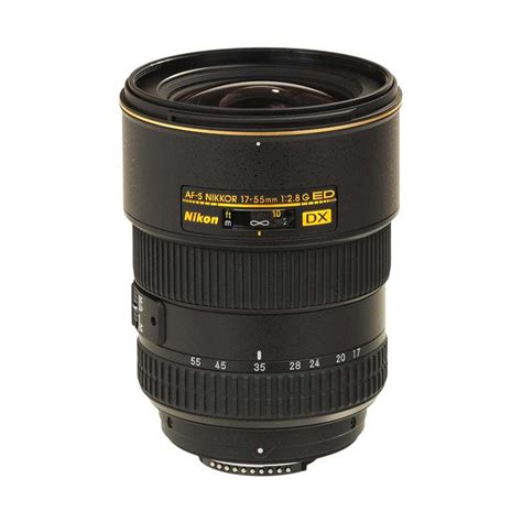 Nikon Af S Dx 17 55mm F 2 8g If Ed jual nikon af s 17 55mm f 2 8g if ed dx lensa kamera