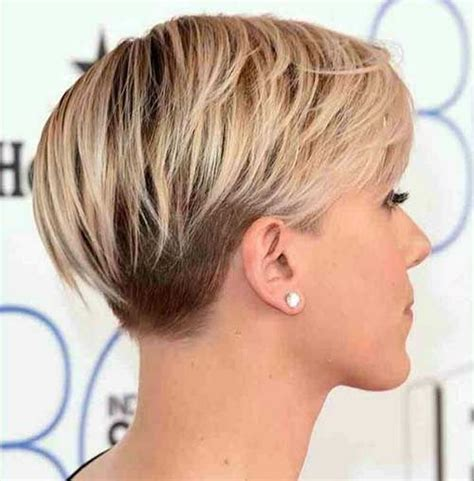 hairstyles blonde in front black in the back the hairstyle stacked short haircuts 2010 back views and