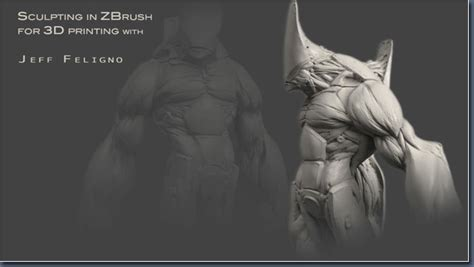 zbrush tutorial sculpting character sculpting a character in zbrush with jeff feligno