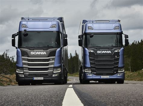 scania unveils all new s series transport cafe