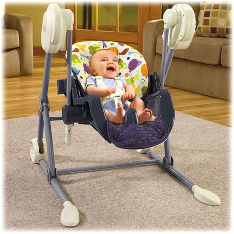 highchair swing new fisher price 2 in 1 baby infant swing to high chair