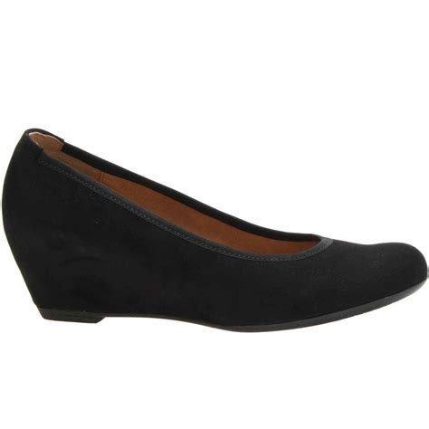 gabor women s wedge court shoes charles clinkard