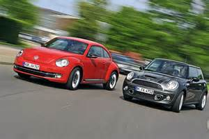 Mini Cooper S Vs Mini Cooper Vw Beetle Vs Mini Cooper Ernsthafte Konkurrenz