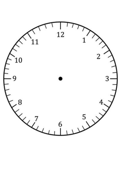 printable clock craft clock faces for use in learning to tell the time craft