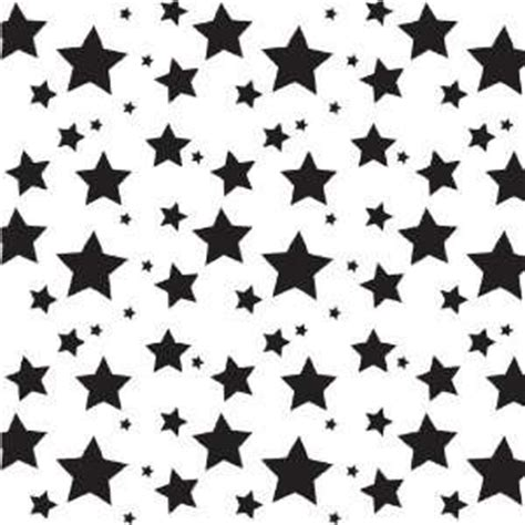 star pattern black and white stars light pink pink pattern vinyl decals 3 sheets