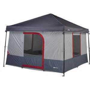 Walmart 10x10 Canopy by Ozark Trail 6 Person 10 X 10 Connectent For Canopy