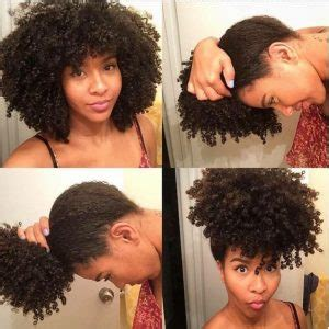 pineapple on short hair wash go on natural hair how to get the perfect wash n go