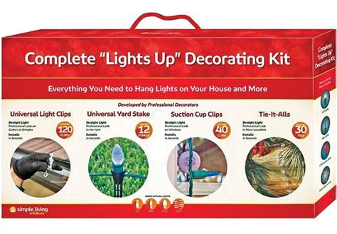 living solutions christmas lights simple living solutions 713520 complete lights up