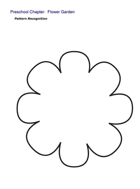 flower pattern for preschool preschool programs chapter tslac