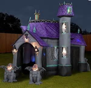 Halloween Tent Decorating Ideas Inflatable Halloween Haunting Slipperybrick Com