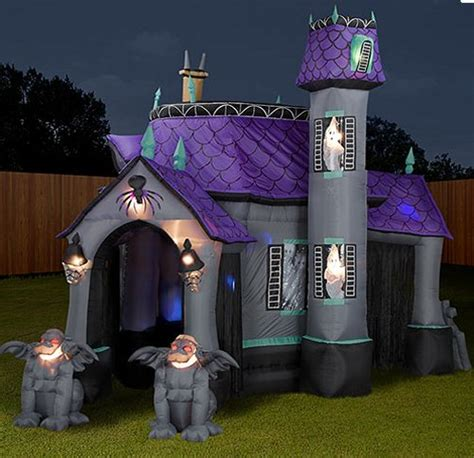 inflatable house inflatable halloween haunting slipperybrick com