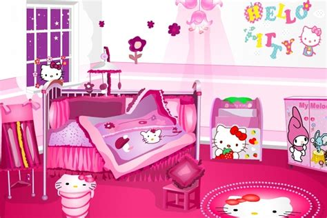 hello kitty bedroom game hello kitty room decoration game attractive design inspiration gt ntvod com picture