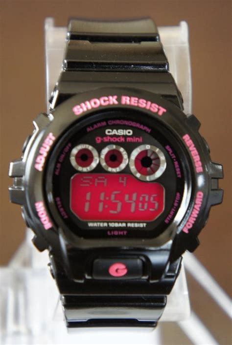 Shock Yss G2 Mio 時計 g shock g shock mini gmn 692 1jr ブラック 215 ピンク