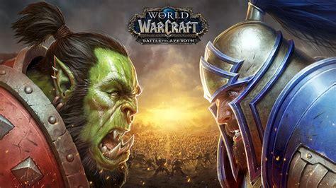wallpaper world  warcraft battle  azeroth poster