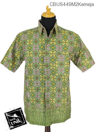 Kemeja Branded Murah Cowok Polos Pendek Kerah Sanghai Baju Koko Polos baju batik gamis pekalongan motif songket kawung kemeja lengan pendek murah batikunik