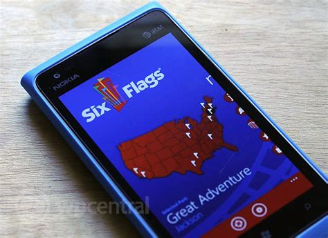 Six Flags Sweepstakes - win a nokia lumia 900 and four entry tickets to six flags with joint sweepstakes