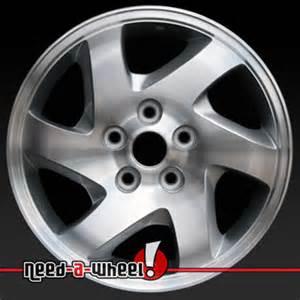 2001 2003 mazda tribute wheels machined silver rims 64845