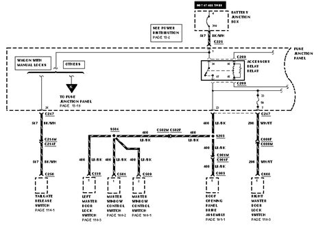 2000 ford taurus stereo wiring diagram auto parts diagrams