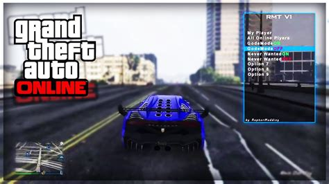 mod gta 5 for ps4 gameplay mod menu sur ps4 gta 5 online youtube