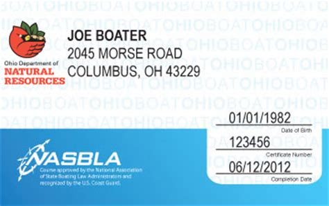 i lost my ohio boating license ohio boating license boat safety course boat ed 174