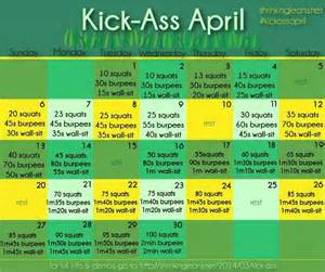 Monthly Workout Calendar Monthly Workout Plan Fit Nessy