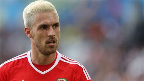 arsenal s aaron ramsey haircut haircut for men top five best haircuts of the euro 2016 finals