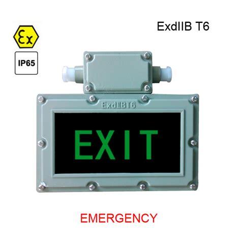 Lu Emergency Led Timezone bzd310 led ex proof exit signal lighting dpkt technologies