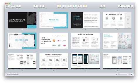 The Ux Portfolio Templates Ux Portfolio Template