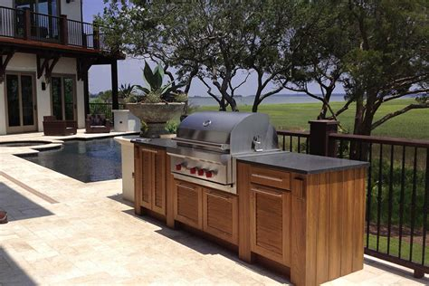 outdoor kitchen cabinets melbourne naturekast outdoor summer kitchen cabinet gallery