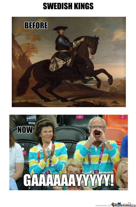 Swedish Meme - kings of sweden before and now by kickassia meme center