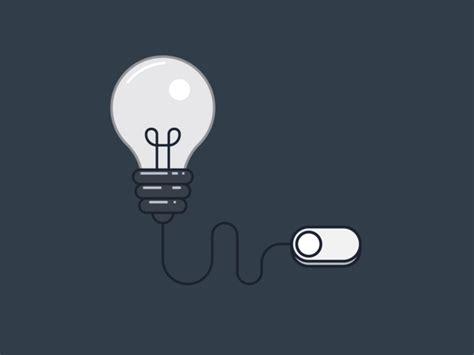 Light Bulb Color Trip Switch By Vivek Choudhary Dribbble