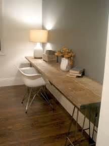 Rustic Desk Ideas Room Desk Ideas Reclaimed Wood Desk Maybe I Could Use This In A Craft Room One Day