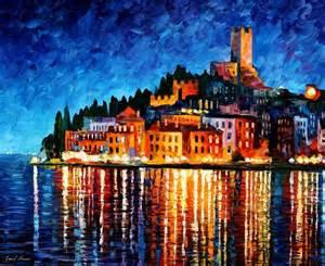Colorful painting best beautiful leonid afremov vivid colored oil