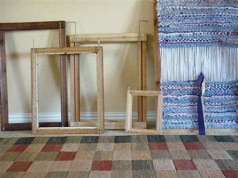 How To Make A Rag Rug Frame by Rag Rug Loom This Is A Forgiving Craft