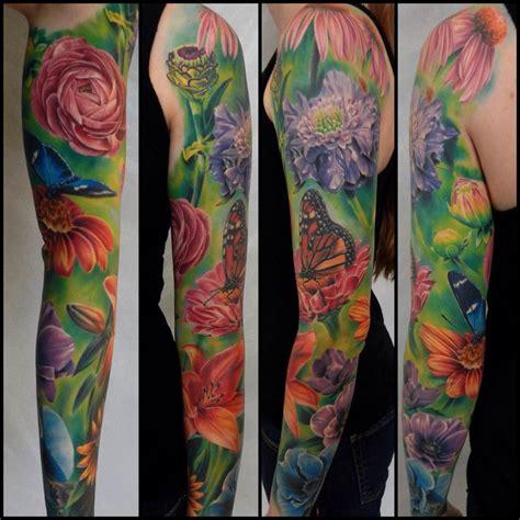 abraxas tattoo abraxas co carlos ransom floral sleeve